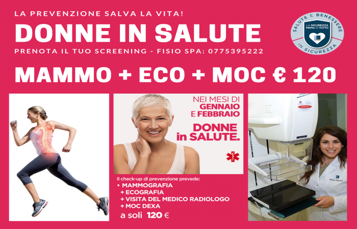 FISIOSPA: DONNE IN SALUTE