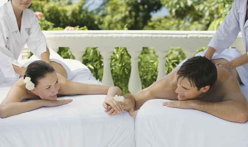 massaggio di coppia pevonia
